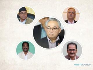 एमालेभित्र पूर्वमाओवादी 'पाँच पाण्डव'को भविष्य