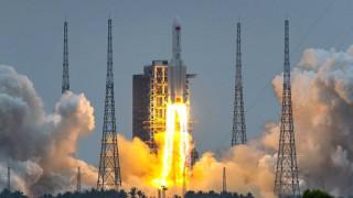 अन्तरिक्ष स्टेसन बनाउन चीनको पहिलो रकेट प्रक्षेपण