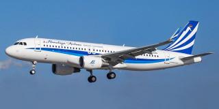 स्वास्थ्य सामग्री लिएर आयो हिमालय एयरलाइन्सको जहाज