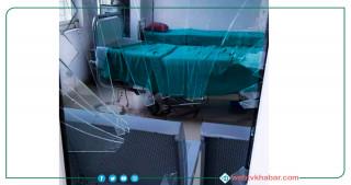उपचारमा ढिलाइ भएको भन्दै रत्ननगर अस्पतालमा तोडफोड